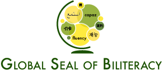 Global seal logo